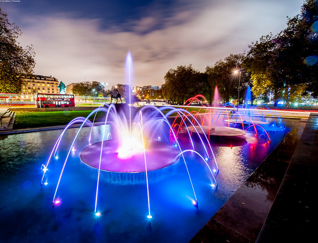Marble Arch Fountains