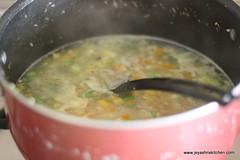 Veg soup step 4