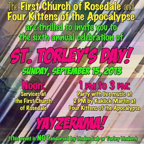 St. Torley's Day invitation