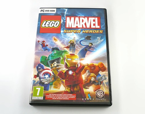 LEGO Marvel Super Heroes Game Box2