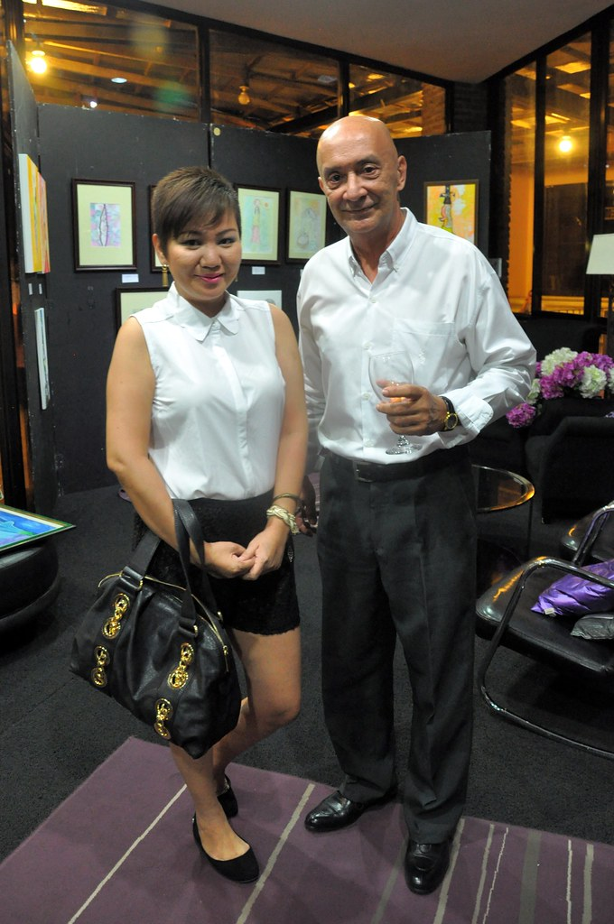 with Ilocano-Lebanese artist Mike Kairuz