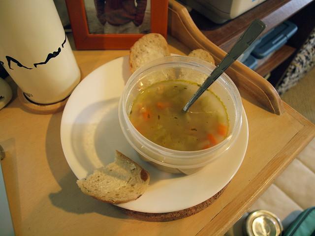 sick day soup.