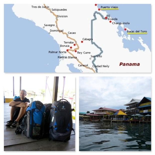 Llegar a Bocas del Toro