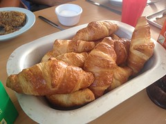 croissants for breakfast, summer camp