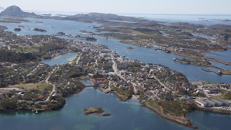 Brønnøysund_fra_luften