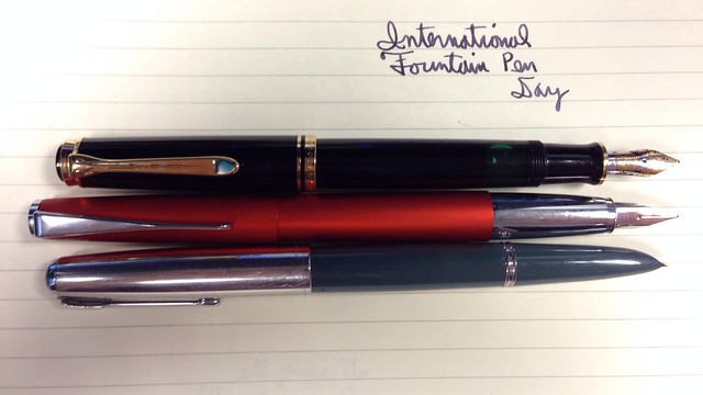 International Fountain Pen Day