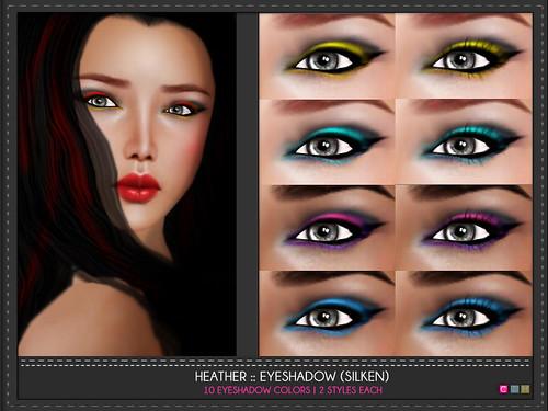 Heather EyeShadows (Indecisive)