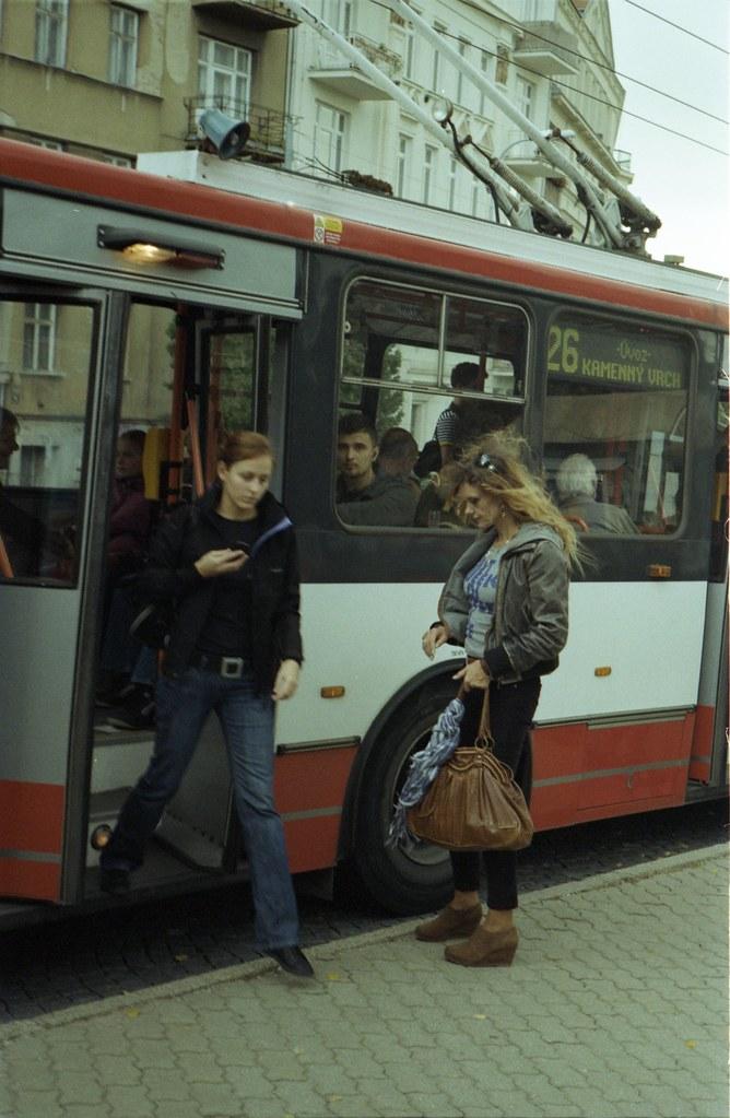 Kiev 4 - New Scan - Trolley Bus Arrival
