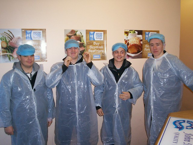 Visit to Munro's Slaughterhouse, Dingwall