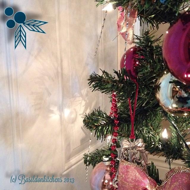 Dec 6 - shadow {I love the shadow cast Toby the Christmas tree lights} #fmsphotoaday #shadow #christmas #tree #holidays #festive #lights