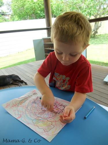 Activity a day #2 - Colouring in (2)