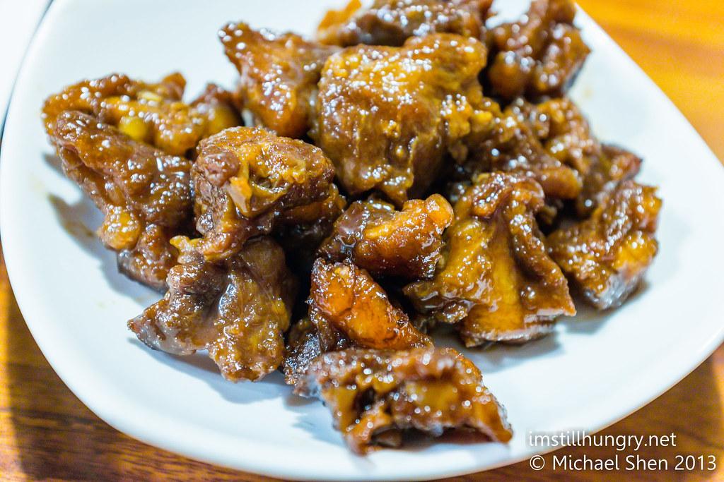 Sweet & sour pork ribs Taste of Shanghai