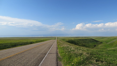 South of Consort, Alberta, along AB-886