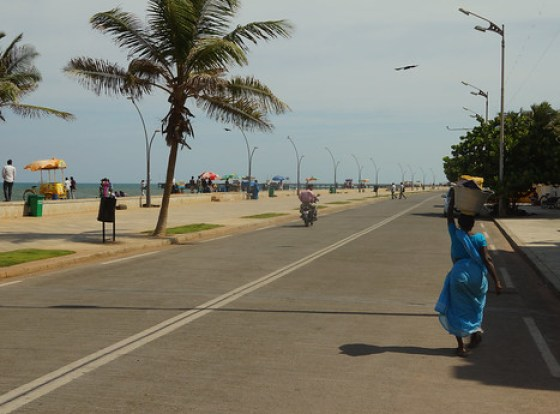 Pondicherry Boardwalk
