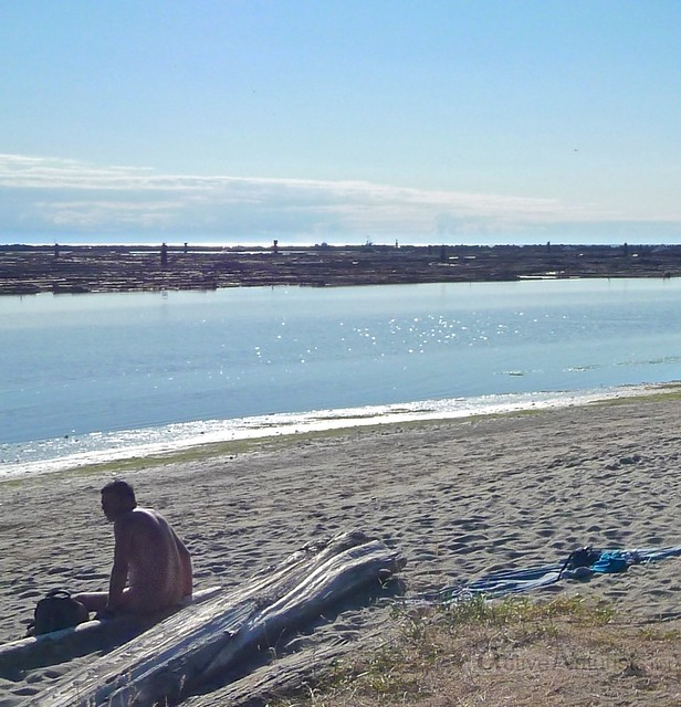 naturist 0000 Wreck Beach, BC, Canada