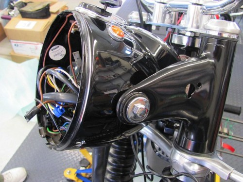 Mounted Headlight Shell