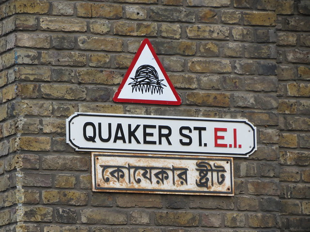 Shoreditch street art - Nathan Bowen