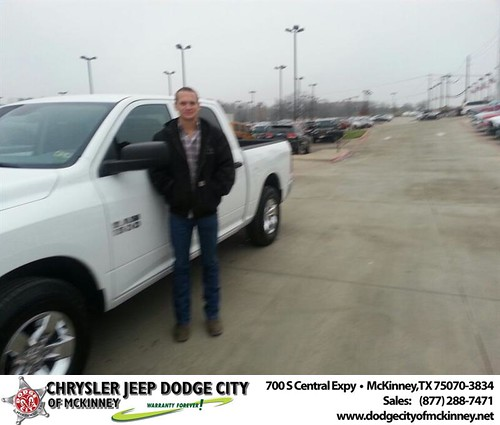 Thank you to Kevin Baca on your new truck  from Henry Adologie and everyone at Dodge City of McKinney! #NewCar by Dodge City McKinney Texas