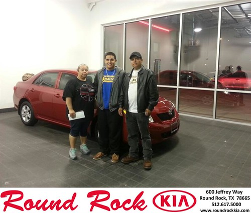 Thank you to Maria Hernandez on your new 2010 #Toyota #Corolla from Rudy Armendariz and everyone at Round Rock Kia! #NewCarSmell by RoundRockKia