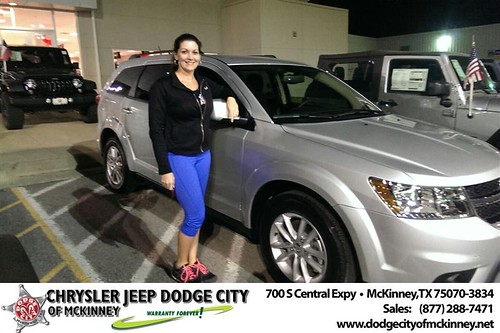 Thank you to Tara Maxwell on your new 2014 #Dodge #Journey from Joe Ferguson  and everyone at Dodge City of McKinney! #NewCarSmell by Dodge City McKinney Texas
