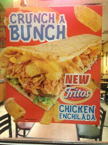 Subway Fritos Chicken Enchilada Melt 5