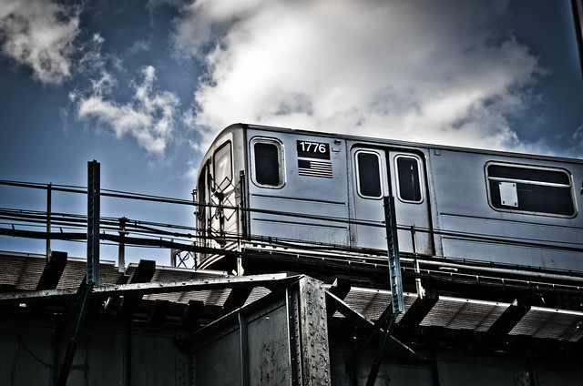 7 Train, Woodside, Queens, New York City