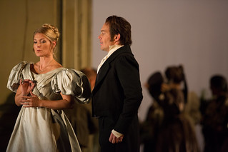 Maria Bengtsson as Countess Almaviva and Christopher Maltman as Count Almaviva in Le nozze di Figaro © ROH / Mark Douet 2013