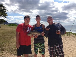 Mahalo Gary for the fresh bait!