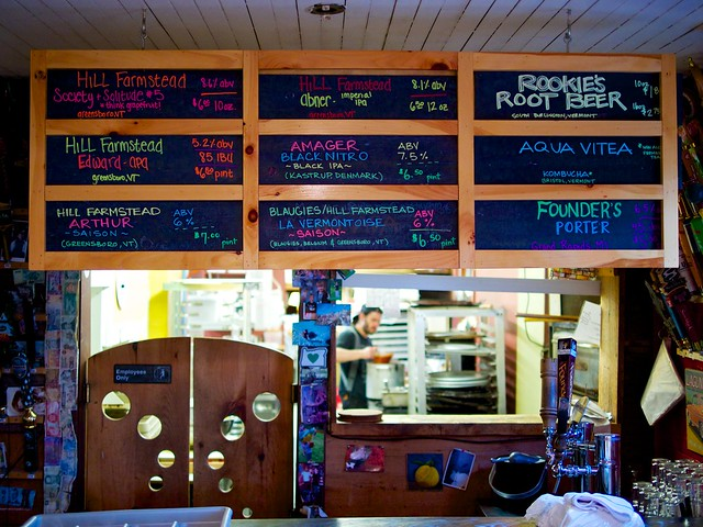 Beers at Parker Pie - West Glover, VT