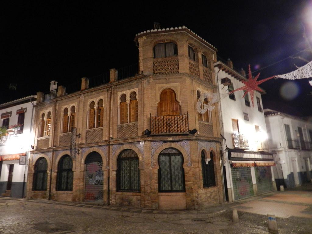 Albaicin Granada de noche 12