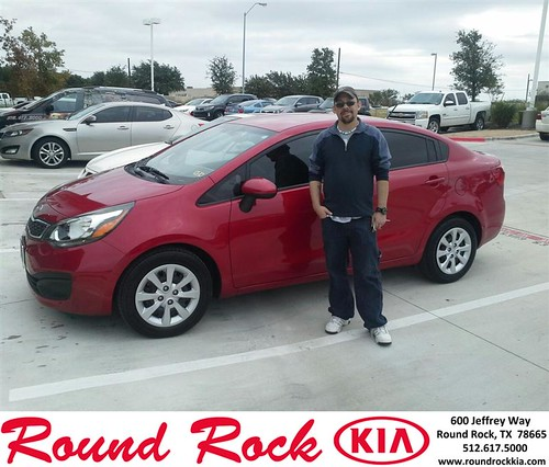 Thank you to John Whigham on your new 2012 #Kia #Rio from Eric Armendariz and everyone at Round Rock Kia! #NewCar by RoundRockKia