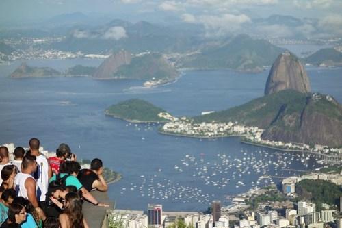View on bay of Rio de Janeiro