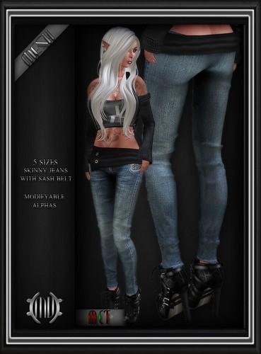 Jean Skinny Pants