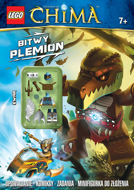 LEGO Legends of Chima - LNC204 Bitwy plemion