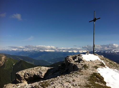 Gipfelkreuz Herrenstein, 2.447 m