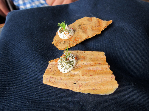 Oak Smoked Cod's Roe on Rye