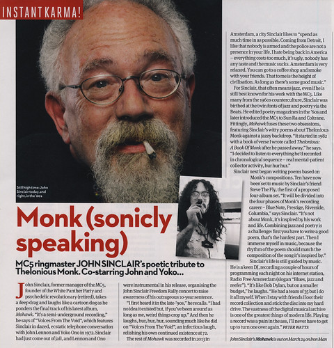 John Sinclair - Uncut Feb 2014