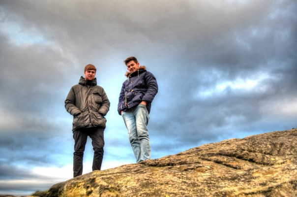 Cow and Calf Jack and Niall on Rock