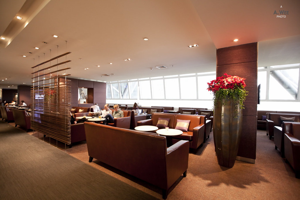 Inside the Business Class Lounge