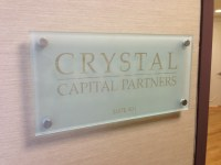 Etched Glass Signs