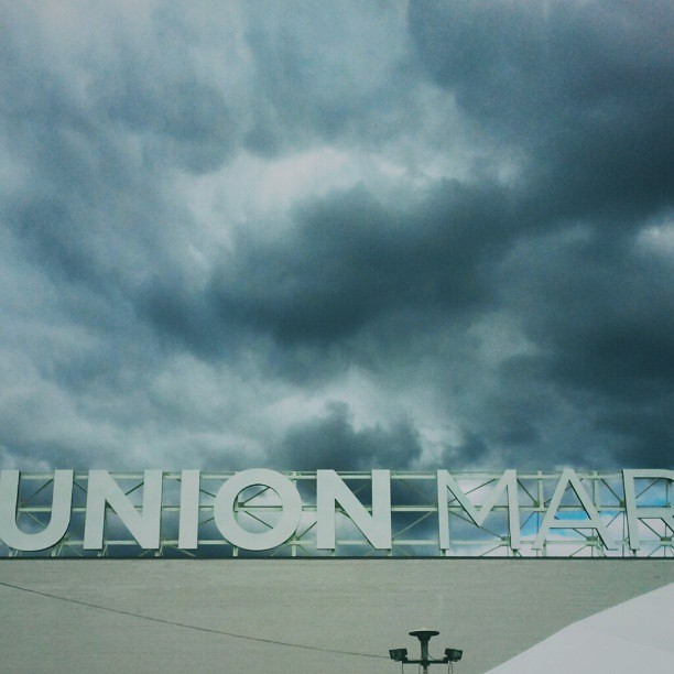 Exploring Union Market this afternoon (despite the clouds, it didn't rain) #dc #thedistrict #unionmarket #washingtondc