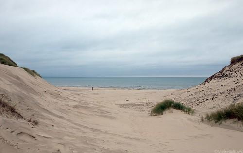Dunes and North Sea
