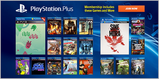 PlayStation Plus Update 11-11-2013