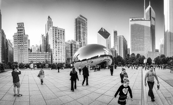 "Cloud Gate (AKA ""the bean"")"