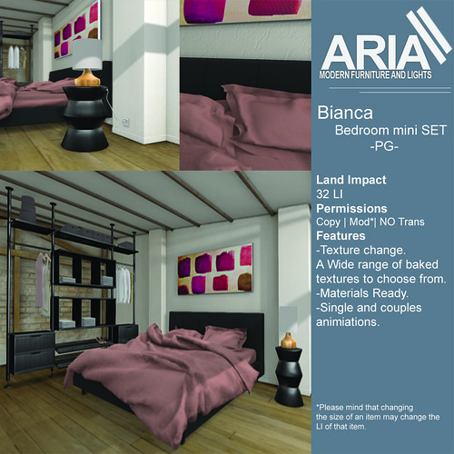 Bianca bedroom PG @FaMESHed