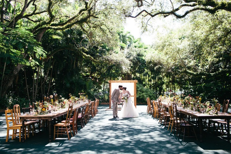 Whimsical vintage-inspired wedding on @offbeatbride