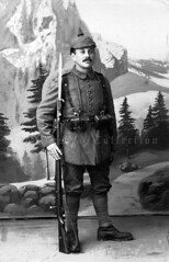 Bavarian soldier pictured in 'mountainous terrain'