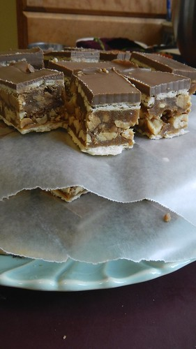 Salty Caramel Nut Squares 31