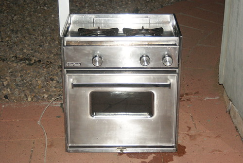 harry's boat stove, topview