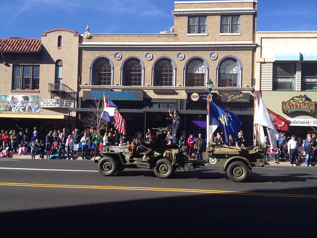 Ft. Carson Soldier On Old Army Jeep